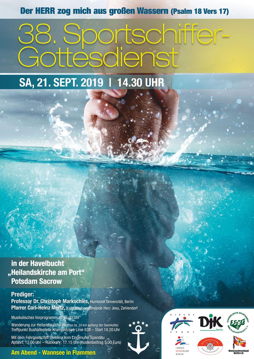Sportschiffer-Gottesdienst am 21.09.2019