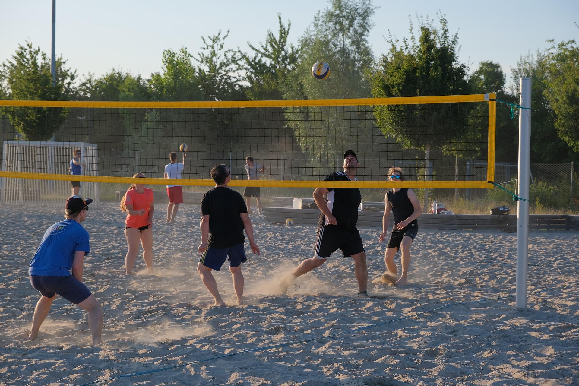 Beach-Volleyballturnier der FV Freizeit-, Senioren- und Gesundheitssport